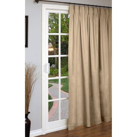 "Thermalogic Weathermate Single Panel Curtain - 96x84"", Pinch Pleat, Insulated"