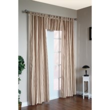 "Thermalogic Weathermate Stripe Curtains - 80x72"", Tab-Top, Insulated in Terracotta - Overstock"