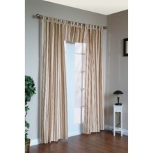 "Thermalogic Weathermate Stripe Curtains - 84"", Tab-Top, Insulated in Terracotta - Overstock"