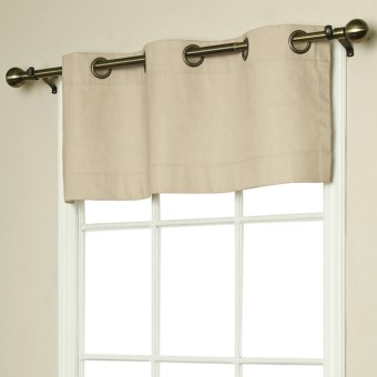"Thermalogic Weathermate Valance - 40"" x 15,"" Grommet-Top, Insulated in Natural"