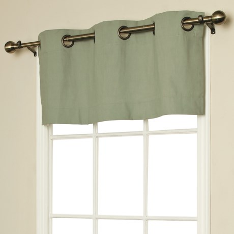 "Thermalogic Weathermate Valance - 40x15,"" Grommet-Top, Insulated in Khaki"