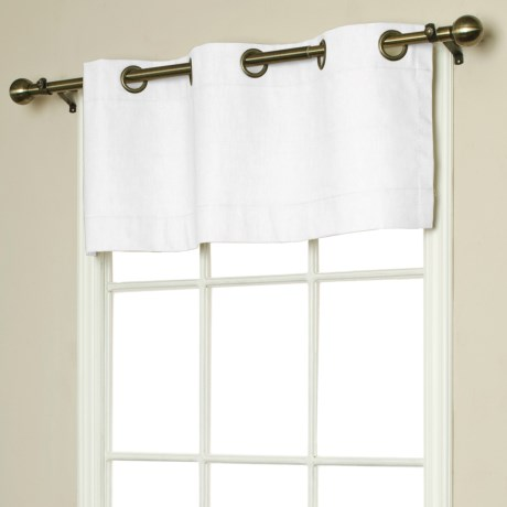 """Thermalogic Weathermate Valance - 40x15,"""" Grommet-Top, Insulated in Natural"""