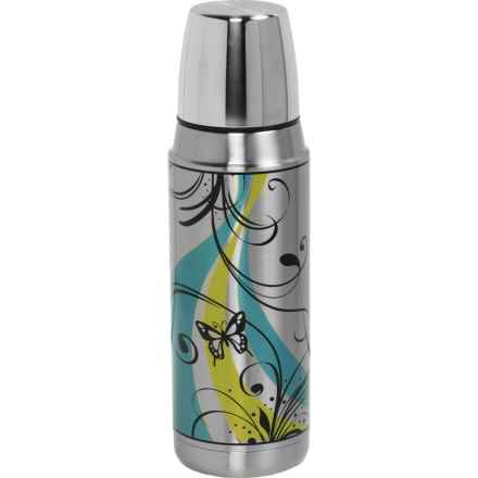 THERMOS® Insulated Vacuum Bottle - Stainless Steel, 16 fl.oz. in Butterfly - Closeouts