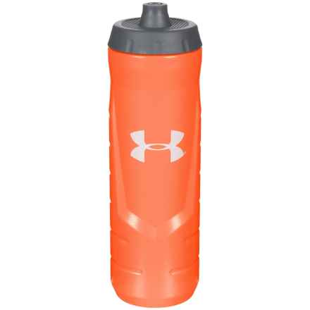THERMOS® Squeeze Bottle with Quick-Shot Lid - 32 oz. in Orange - Closeouts