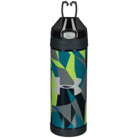 THERMOS® Stainless Steel Vacuum-Insulated Bottle - 16 oz. in Blue Eprint - Closeouts