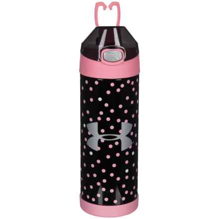 THERMOS® Stainless Steel Vacuum-Insulated Bottle - 16 oz. in Pink Spot - Closeouts