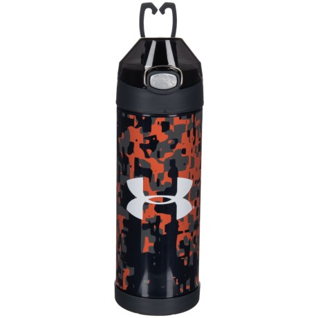 THERMOS® Stainless Steel Vacuum-Insulated Bottle - 16 oz. in Red Print