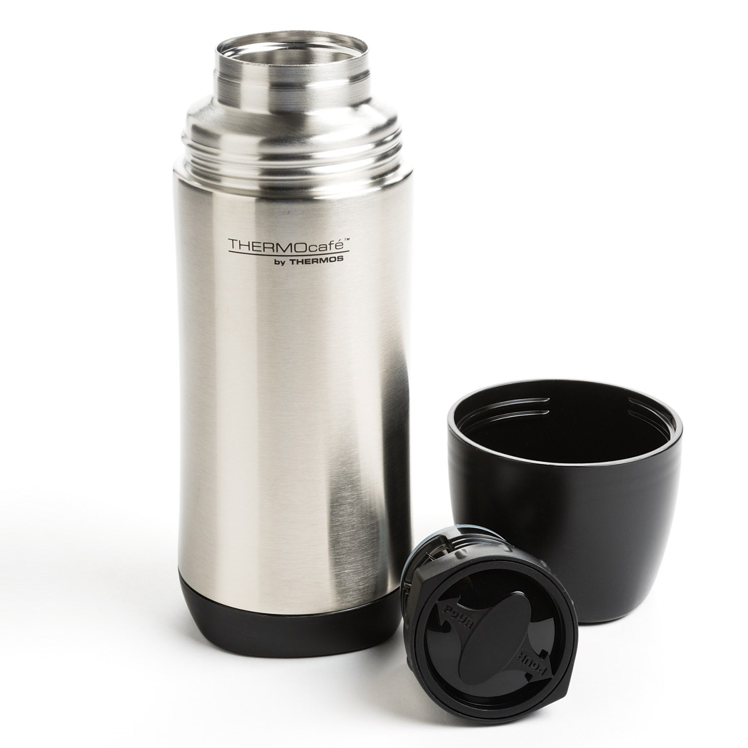 thermos thermocafe insulated stainless steel beverage bottle 17 save 31. Black Bedroom Furniture Sets. Home Design Ideas