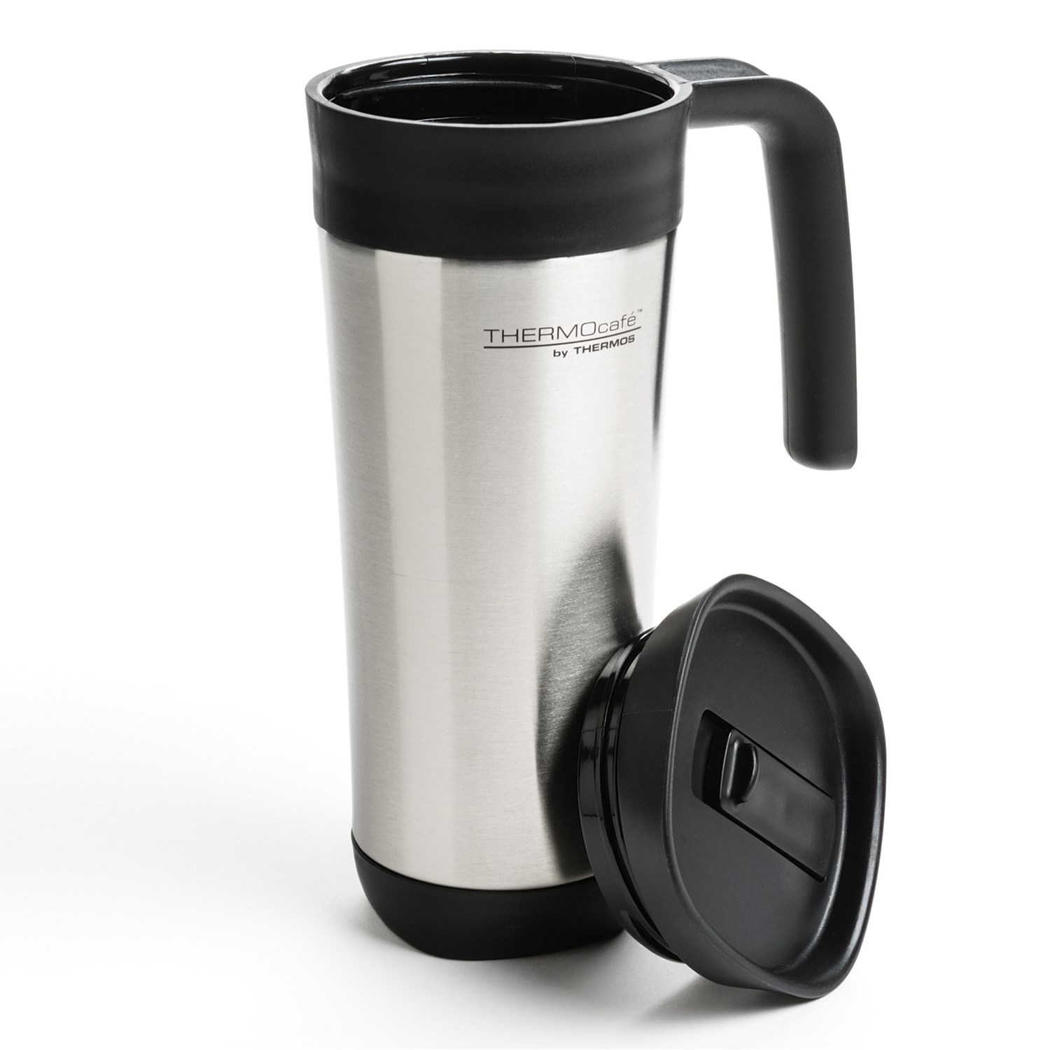 Oz Insulated Stainless Steel Travel Mug Thermocafe By Thermos