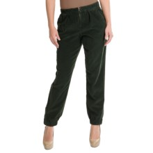 Theyskens Theory Pourant Pants - Stretch Corduroy (For Women) in Kelp - Closeouts