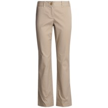 Think Tank Ottoman Pants - Stretch Cotton (For Women) in Tan - Closeouts