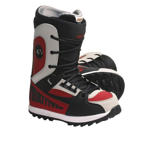 Thirty Two Heritage Snowboard Boots (For Men) in Black/Red/Grey