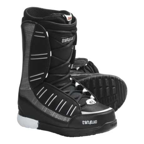 Thirty Two Ultralight Snowboard Boots (For Men) in Black/Silver