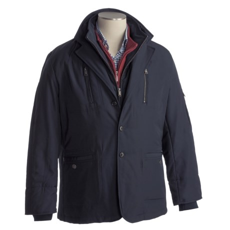 Thomas Dean Bib Front Jacket - Insulated (For Men) in Navy