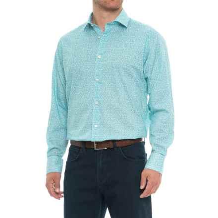 Thomas Dean Button-Down Sport Shirt - Long Sleeve (For Men) in Green - Closeouts