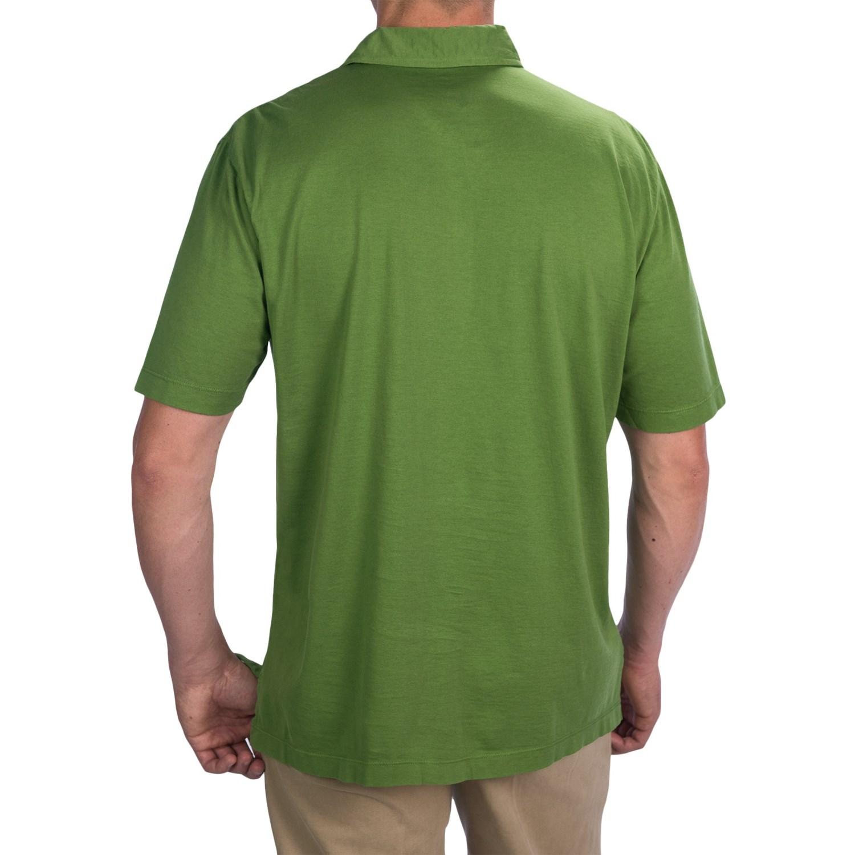 Thomas Dean Pima Cotton Polo Shirt For Men 7726m Save 77