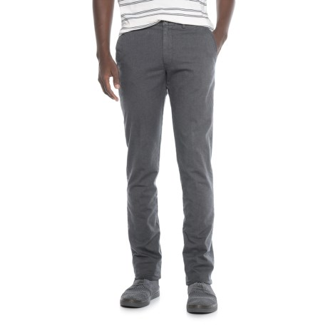 Thomas Dean Stretch Cotton Unhemmed Pants (For Men)
