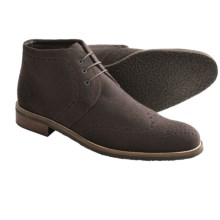 Thomas Dean Wool Chukka Boots (For Men) in Brown Wool - Closeouts