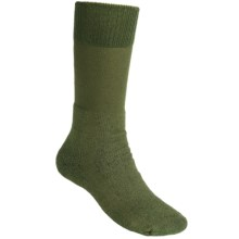 Thorlo Boot Socks - Midweight, Mid-Calf (For Men and Women) in Olive - 2nds