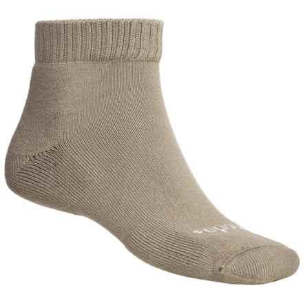 Thorlo Everyday Outdoor Socks - CoolMax®, Mini Crew (For Men) in Khaki - 2nds