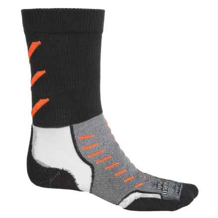 Thorlo Experia CoolMax® Socks - Crew (For Men and Women) in Jet Orange - Closeouts