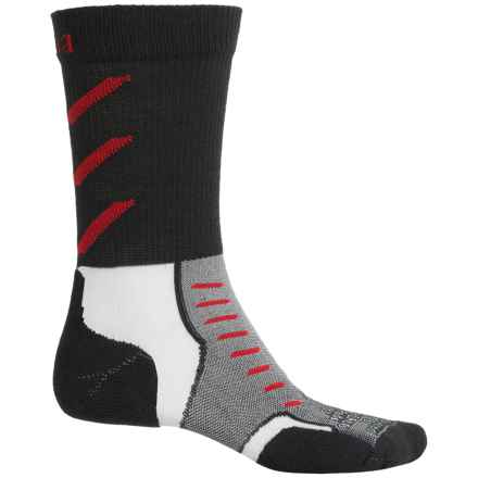 Thorlo Experia CoolMax® Socks - Crew (For Men and Women) in Jet Red - Closeouts