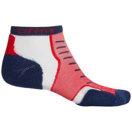 Thorlo Experia® Multi-Activity Socks - Below the Ankle (For Men and Women) in Cottage Red - Closeouts