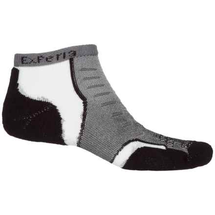 Thorlo Experia® Multi-Activity Socks - Below the Ankle (For Men and Women) in Jet Grey - Closeouts