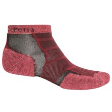 Thorlo Experia Socks - Ankle (For Men and Women) in Brick Red - Closeouts