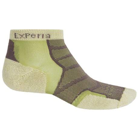 Thorlo Experia Socks - Ankle (For Men and Women) in Celery