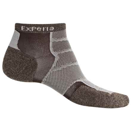 Thorlo Experia Socks - Ankle (For Men and Women) in Chestnut Brown - Closeouts