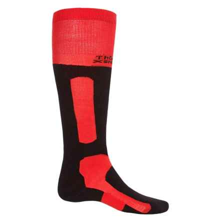 Thorlo Extreme Boarding Socks - Thermolite®, Over the Calf (For Men and Women) in Red/Black - 2nds