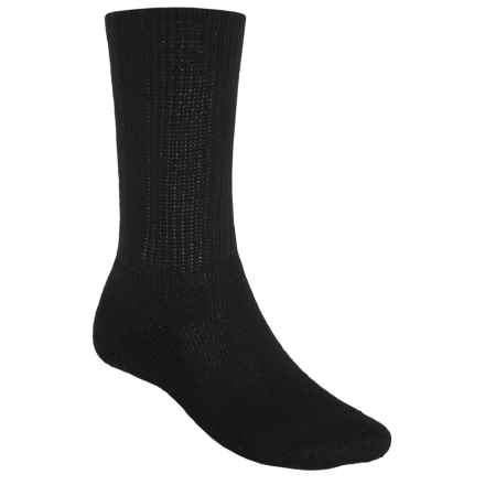 Thorlo Golf Socks - Crew (For Men) in Black - 2nds