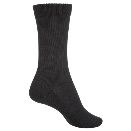 Thorlo Health Padds Socks - Crew (For Women) in Black
