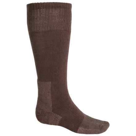 Thorlo Heavyweight Mountaineering Socks - Over the Calf (For Men and Women) in Brown - 2nds