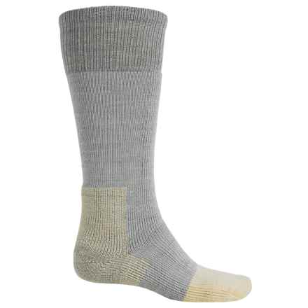 Thorlo Heavyweight Mountaineering Socks - Over the Calf (For Men and Women) in Light Grey - 2nds