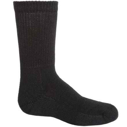 Thorlo Heavyweight Tennis Socks - Crew (For Men and Women) in Black - 2nds