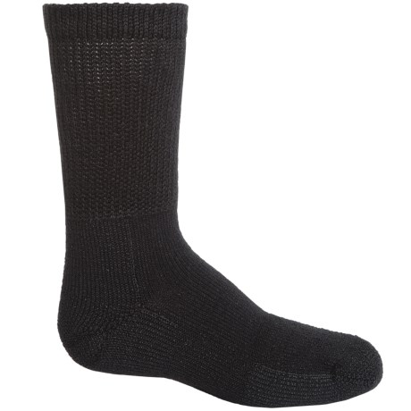 Thorlo Heavyweight Tennis Socks - Crew (For Men and Women) in Black