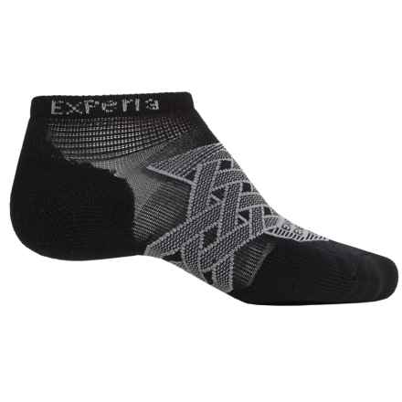 Thorlo Imp Experia® Energy Run Socks - Ankle (For Men and Women) in Black - 2nds