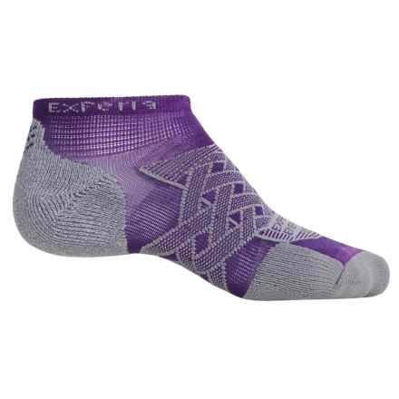 Thorlo Imp Experia® Energy Run Socks - Ankle (For Men and Women) in Electric Purple - 2nds