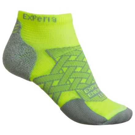 Thorlo Imp Experia® Energy Run Socks - Ankle (For Men and Women) in Electric Yellow - 2nds