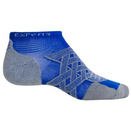 Thorlo Imp Experia® Energy Run Socks - Ankle (For Men and Women) in Royal - 2nds