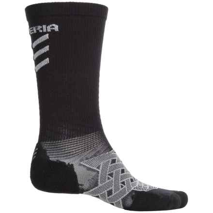 Thorlo Imp Experia® Energy Socks - Over the Calf (For Men and Women) in Black - 2nds