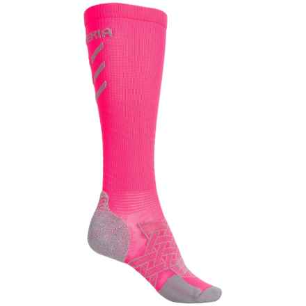 Thorlo Imp Experia® Energy Socks - Over the Calf (For Men and Women) in Electric Pink - 2nds