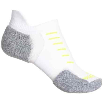 Thorlo Imp Experia No-Show Tab Socks- Below the Ankle (For Men and Women) in White