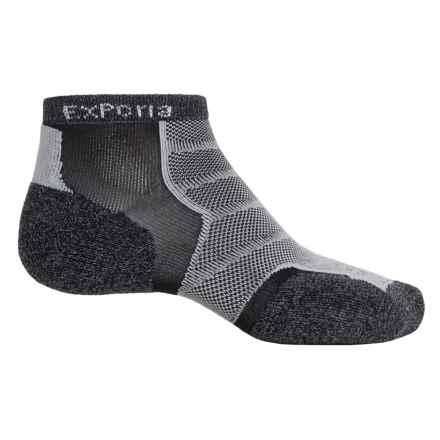 Thorlo Imp Experia® Run Socks - Ankle (For Men and Women) in Charcoal - 2nds