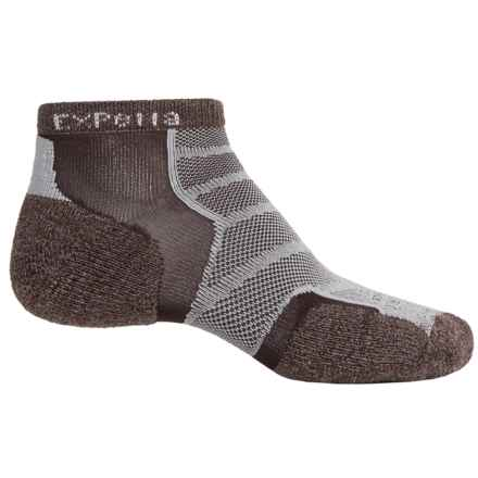 Thorlo Imp Experia® Run Socks - Ankle (For Men and Women) in Chestnut Brown - 2nds