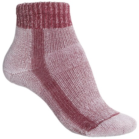 Thorlo Light Hiking CoolMax® Socks - Light Cushion (For Women) in Red
