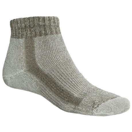 Thorlo Light Hiking CoolMax® Socks - Quarter Crew (For Men)