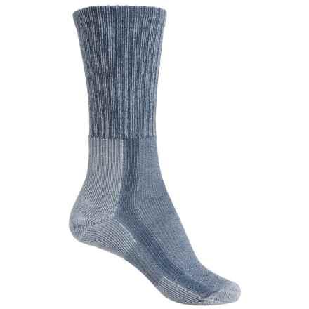 Thorlo Light Hiking Socks - Wool-Silk, Crew (For Women) in Slate Blue - 2nds